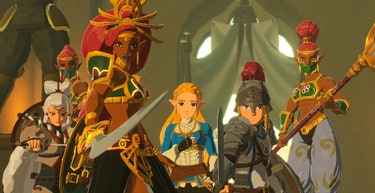 Hyrule Warriors Age Of Calamity Review Just Shy Of Greatness