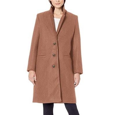 Amazon Essentials Button-Front Coat