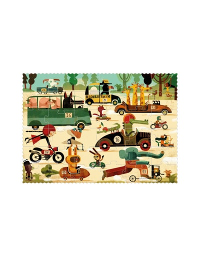 Vroom Vroom Puzzle - 50 Pieces