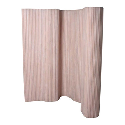 Midcentury Screen Room Divider in Patinated Pine by Alvar Aalto, Findland