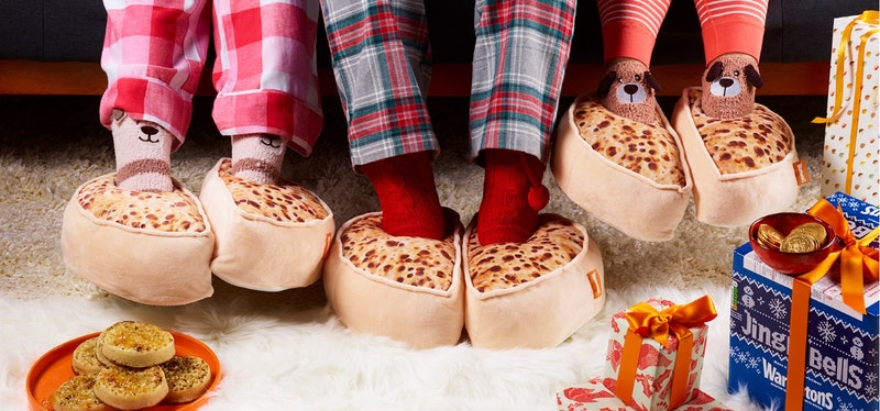 warburtons crumpet slippers