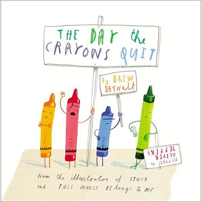 The Day the Crayons Quit (Hardcover)