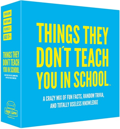 Hygge Games Things They Don't Teach You in School Party Trivia Game