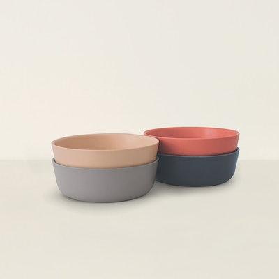 4-piece Bamboo Bowl Set
