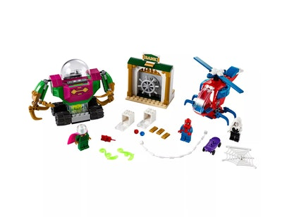 LEGO Marvel Spider-Man The Menace of Mysterio Superhero Playset