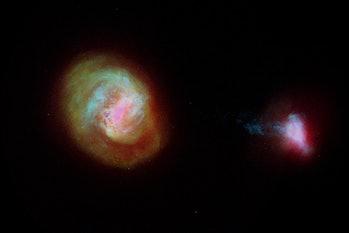 Milky Way's neighboring galaxies