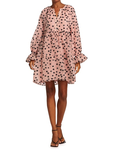 Dream Extreme Ivana Puff-Sleeve Baby Doll Dress