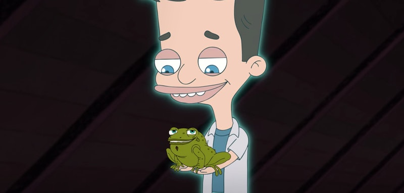 Nick and the Gratitoad in 'Big Mouth' Season 4