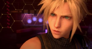 final fantasy 7 remake dancing scene cloud