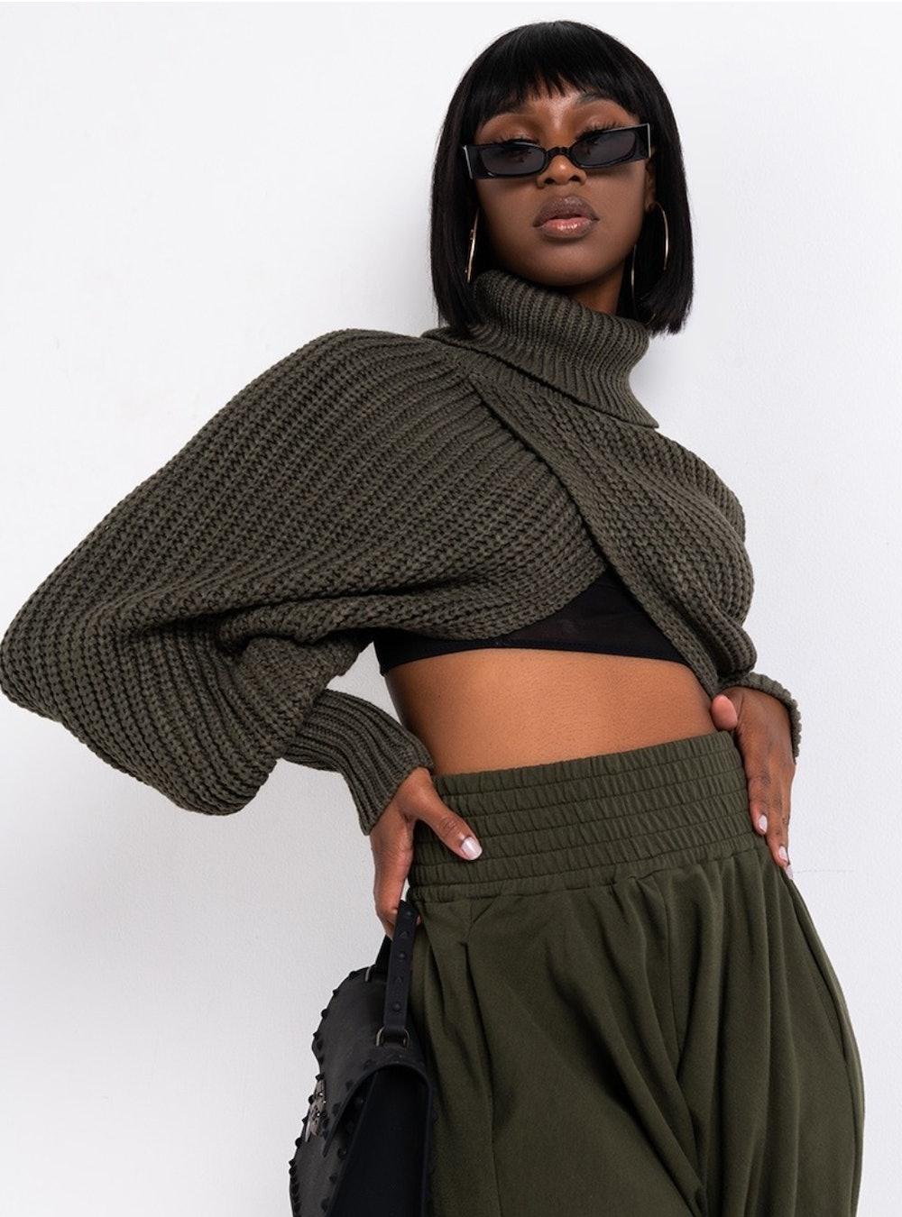 Fireside Ultra Cropped Sweater