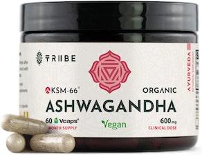 Tribe Organics Vegan KSM-66 Ashwagandha (30 servings)