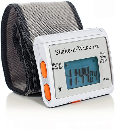 Tech Tools Shake-N-Wake Silent Vibrating Alarm Clock