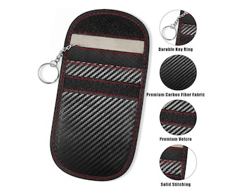 Faraday Key Fob Bag (2-Pack)
