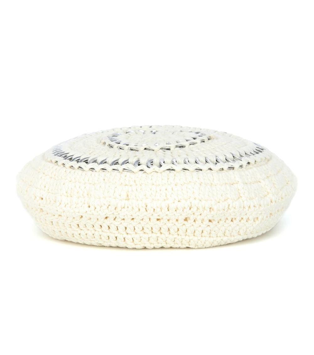 Crochet cotton beret