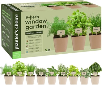 Planters' Herb Window Garden (9-Pack)