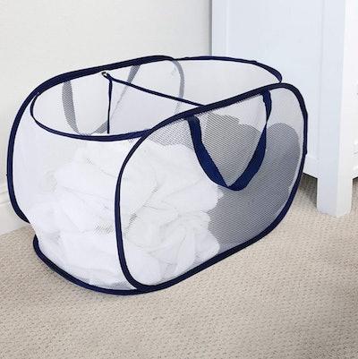 Smart Design Mesh Laundry Basket