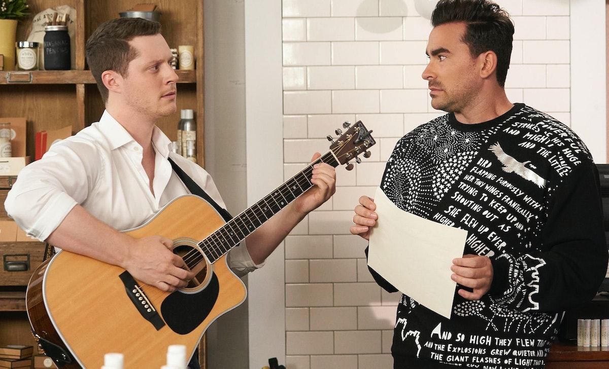 Patrick singing to David is an emotional 'Schitt's Creek' moment.