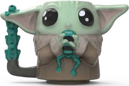 Star Wars The Mandalorian The Child Sculpted Ceramic Mug