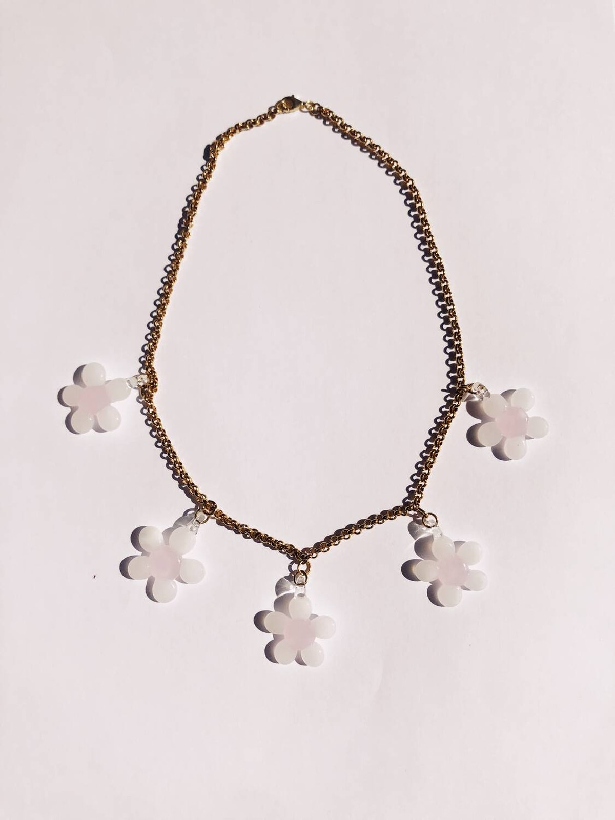Cherry Blossoms Multi Necklace