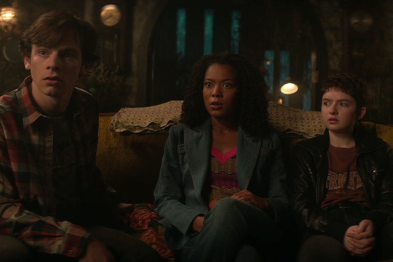 Harvey, Roz, and Theo in 'Chilling Adventures of Sabrina' Part 4