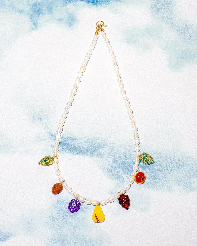 BZ x Serendipitous Fruit Salad Necklace