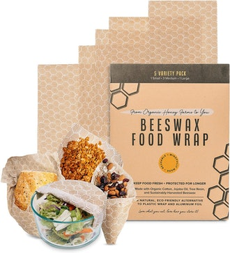 Simple Dwell Beeswax Food Wrap (5-Pack)