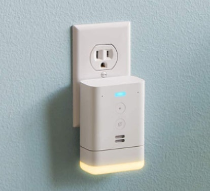 Echo Flex Mini Plug-in Smart Speaker