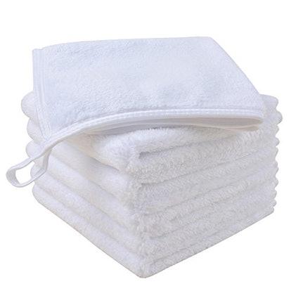 SINLAND Microfiber Face Cloths (6-Pack)