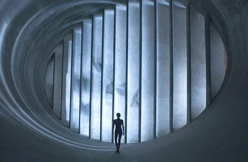 The movie has gorgeous visuals but has been edited beyond making sense.