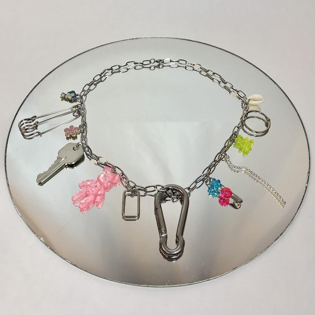 Frankie Bear Charm Necklace