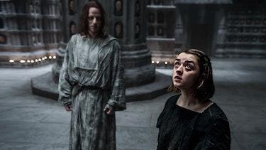 jaqen h'ghar arya stark game of thrones faceless men iron bank winds of winter
