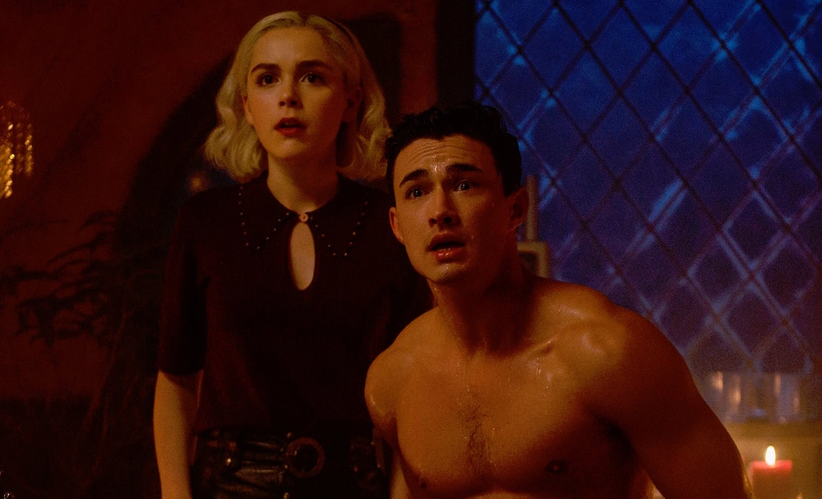 Nick and Sabrina's final scene in 'Chilling Adventures of Sabrina' is bleak.
