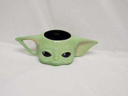 Star Wars Mandalorian The Child Baby Yoda Figural Ceramic Coffee Mug