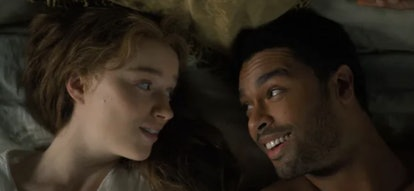 Daphne Bridgerton and Simon Basset from the Netflix adaptation of The Duke and I.