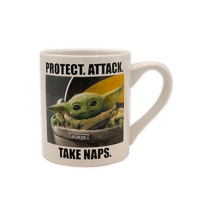 "Star Wars™ ""Protect. Attack. Take Naps."" Coffee Mug"