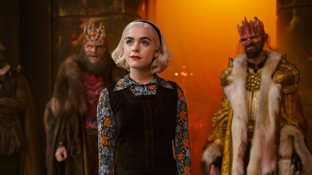 Salem from 'Sabrina the Teenage Witch' has an appearance in 'Chilling Adventures of Sabrina' Part 4.