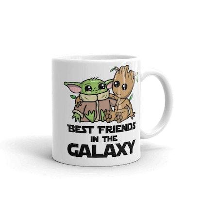 Baby Yoda The Child & Baby Groot Valentine Day