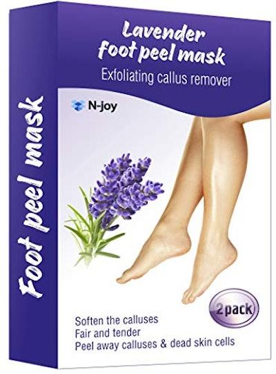 N-Joy Lavender Foot Peel Mask