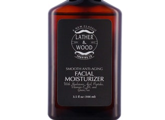 Lather & Wood Shaving Co Face Moisturizer for Men