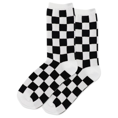 The Sock Barrel Checkerboard Socks