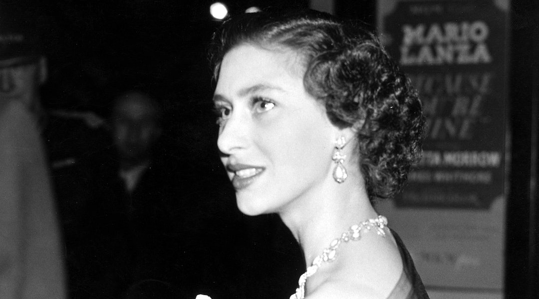 Princess Margaret's Eye Makeup Proves She Was An Early Adopter Of The Cat Eye