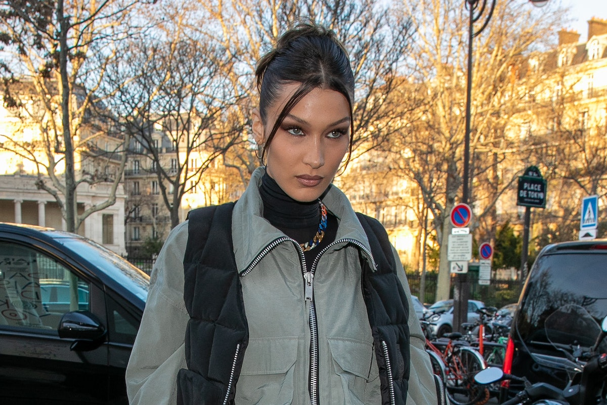 From pastel makeup to piece-y updos, Bella Hadid is a nostalgic style queen.