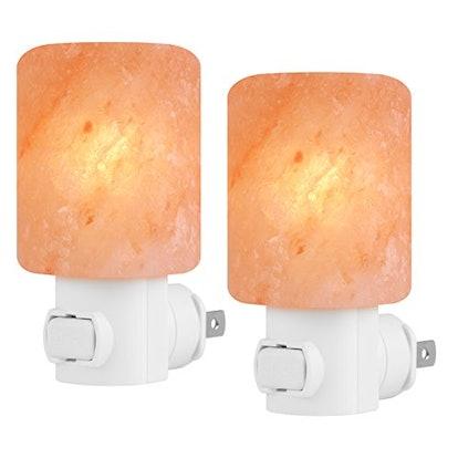 Syntus Himalayan Salt Lamps (2-Pack)
