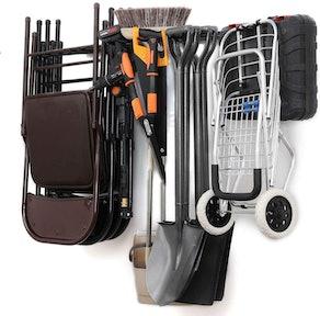 TOKHAROI Heavy Duty Tool Storage Rack Organizer