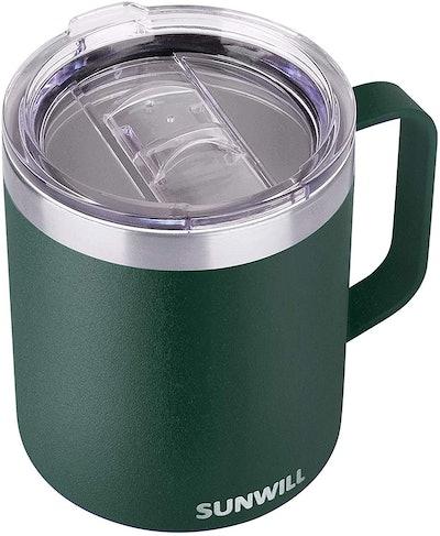 SUNWILL Coffee Mug With Handle (14 Oz.)