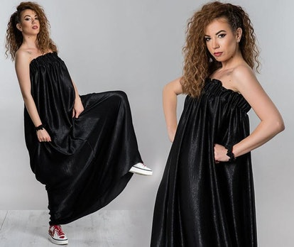 MariFlorAtelie Black Long Dress