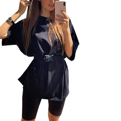 Glamaker Casual Oversized T-Shirt Set (2 Pieces)
