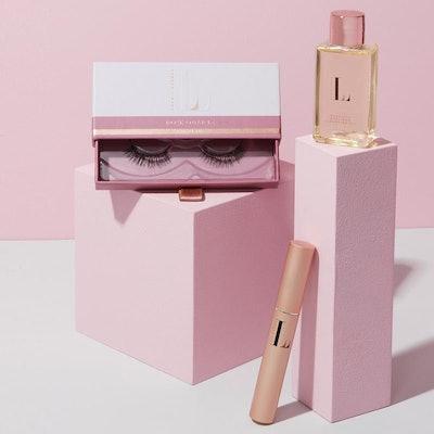 Rose Quartz Magnetic Eyelashes And Eyeliner Kit