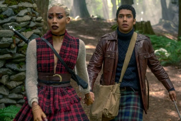Tati Gabrielle and Chance Perdomo star in Chilling Adventures Of Sabrina on Netflix.
