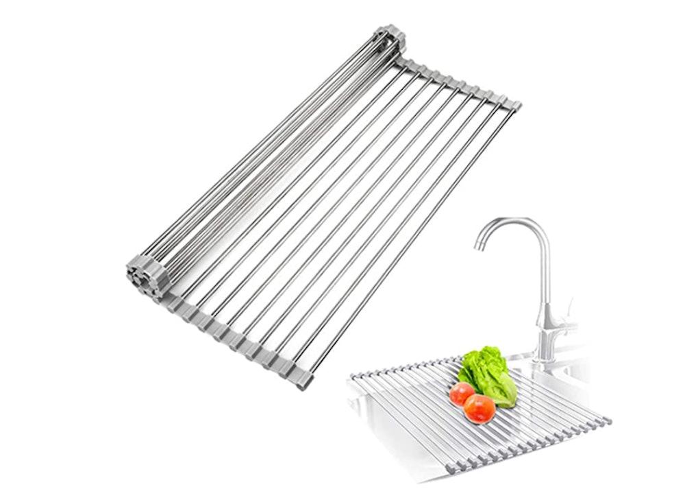 TOQI Roll Up Dish Drying Rack